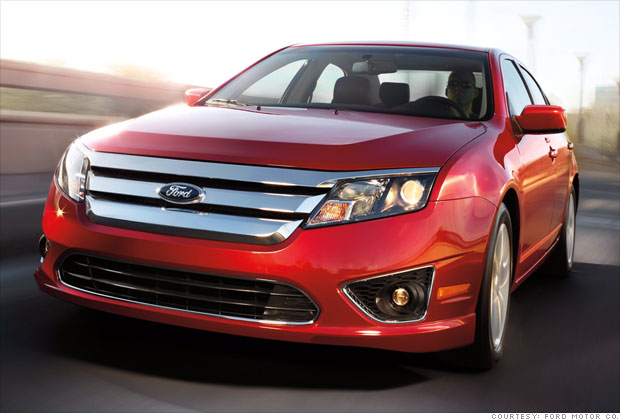 today's best american cars - mid-size: ford fusion (3) - cnnmoney