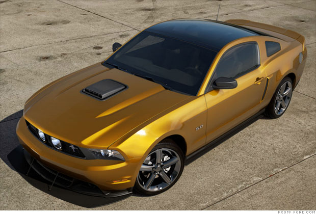 Todays best American cars  Performance coupe Ford Mustang GT 4