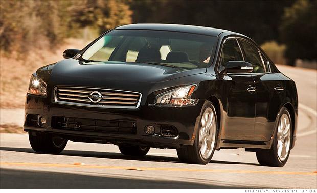 best resale value cars full size car nissan maxima 9 cnnmoney. Black Bedroom Furniture Sets. Home Design Ideas