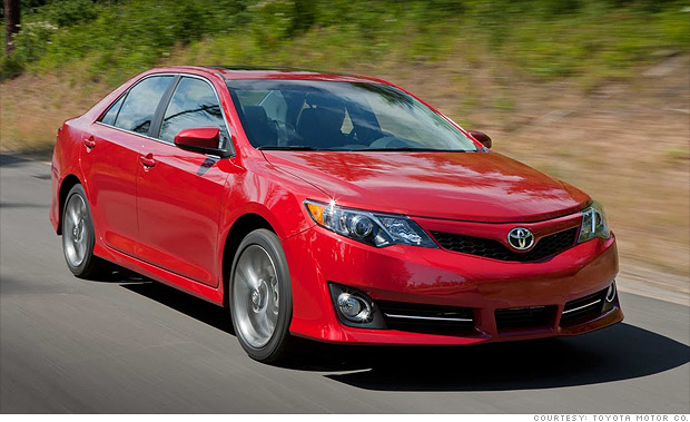 best resale value cars mid size car toyota camry 8 cnnmoney. Black Bedroom Furniture Sets. Home Design Ideas