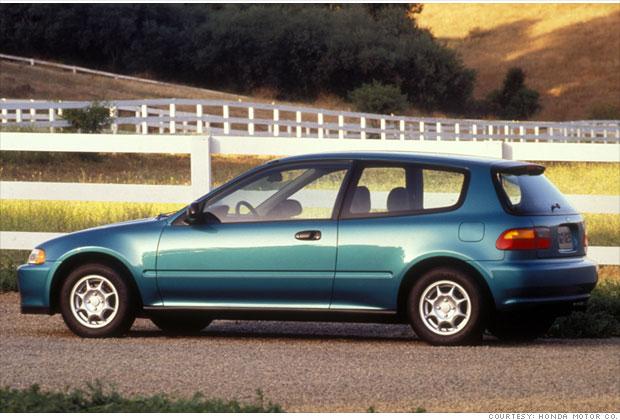 10 Most Fuel Efficient Cars Since 1984 8 1994 1995