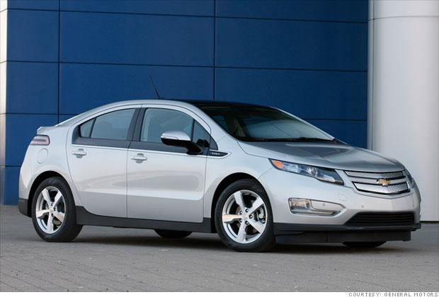 1. 2011-2012 Chevrolet Volt