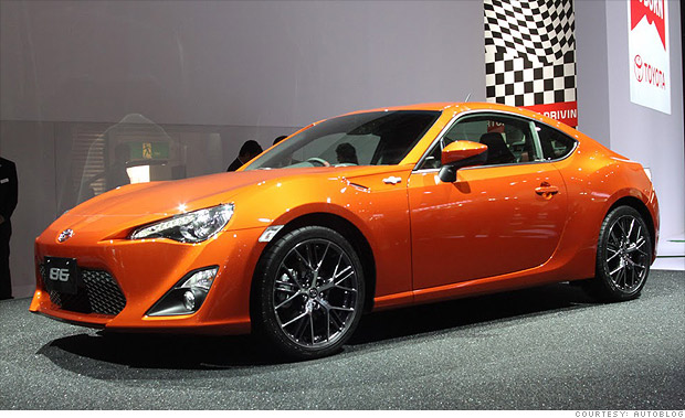 Cool Cars From The Tokyo Motor Show Toyota Gt 86 1