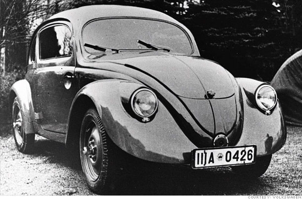 The first Beetle: 1938-1953