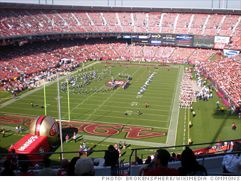 The bad: Candlestick Park/3com Park/Monster Park