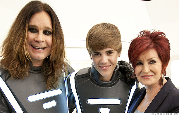 Justin Bieber meets Ozzy Osbourne