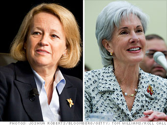 Mary Schapiro and Kathleen Sebelius