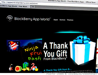 BlackBerry 'apologizes' with crappy apps