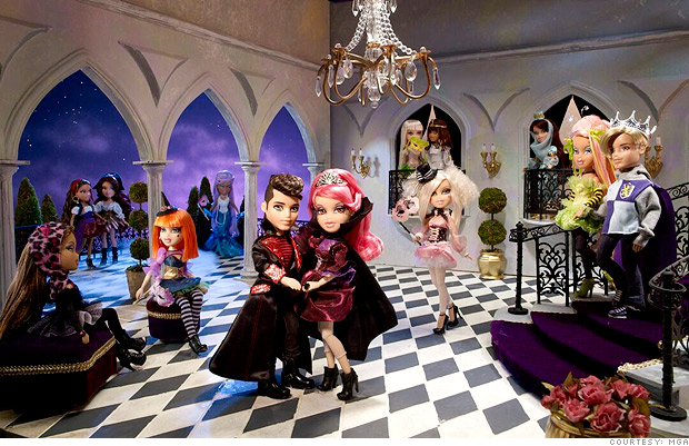 Bratz Mansion http://money.cnn.com/galleries/2011/news/companies/1106/gallery.bratz_dolls/2.html