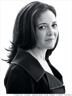 Sheryl Sandberg, Chief Operating Officer