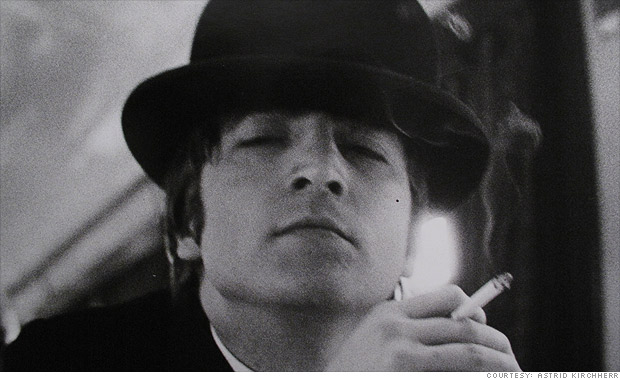 Lennon: Smokin', baby