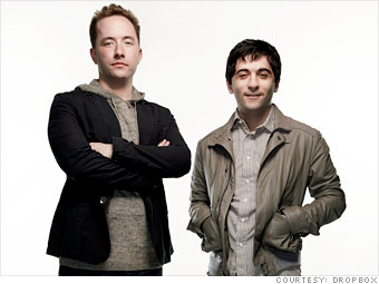 Drew Houston & Arash Ferdowsi 