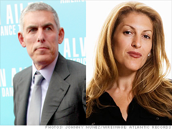 Lyor Cohen and Julie Greenwald