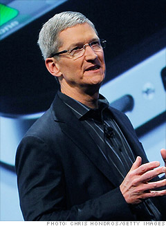 Tim Cook, $59.1 million