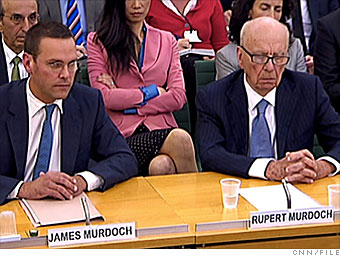Murdoch, News Corp.: Not responsible