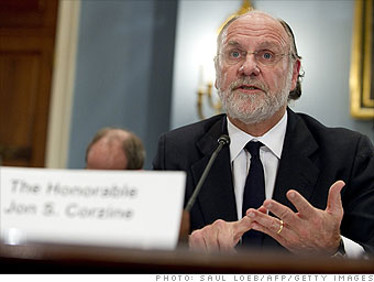 Jon Corzine, MF Global: