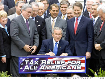 Bush tax cuts: 2001, 2003 and 2006