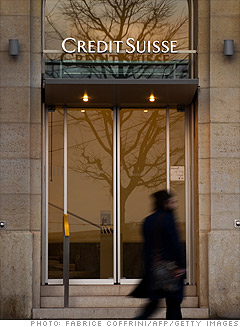 Credit Suisse boots 2,000 workers