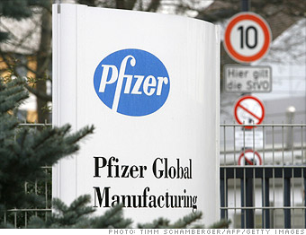 Pfizer downsizes by 5,530 jobs