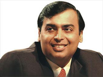 3. Mukesh D. Ambani