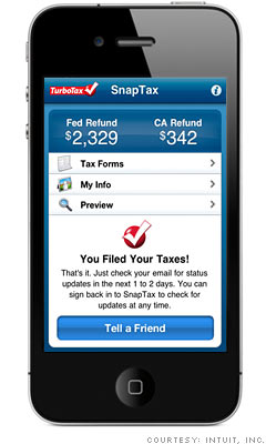 File your taxes by phone