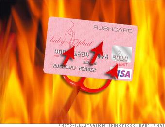 Baby Phat Prepaid Visa RushCard