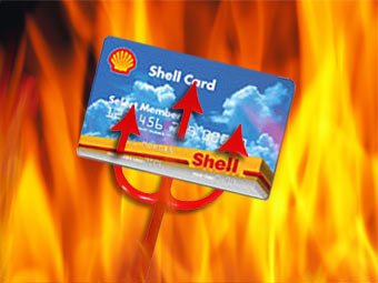 Shell Select Member Card