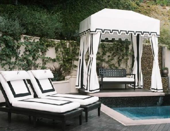 Paris Hilton 39 S Pad For Rent Pool 4