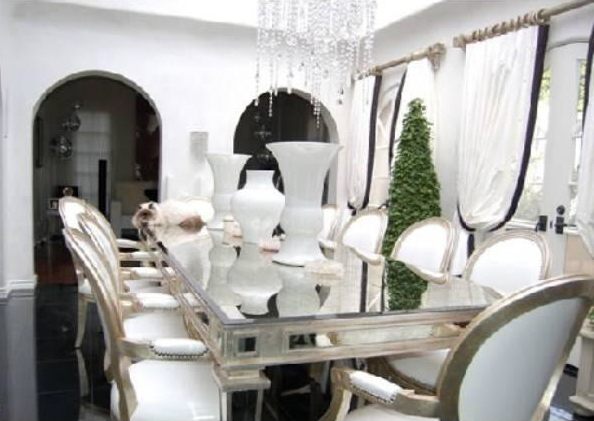 Paris Hilton 39 S Pad For Rent Dining Room 6