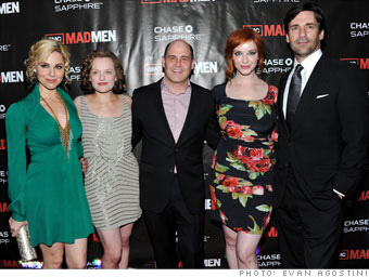 Party with the cast of Mad Men