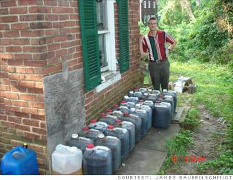 I use restaurant vegetable oil  for car fuel