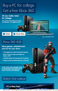 Microsoft: Buy a PC, get a free Xbox