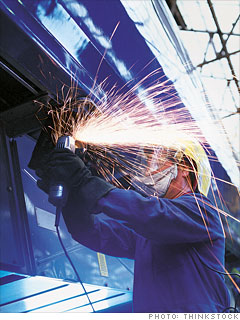 Industrial machine repairman
