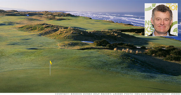 William Lauder: Bandon Dunes, Ore.
