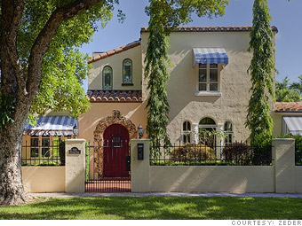 Houses what a million dollars buys coral gables fla for Spanish style homes for sale near me
