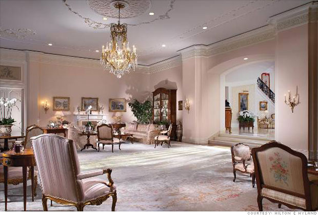 Inside The Spelling Manor The Living Room 4 Cnnmoney