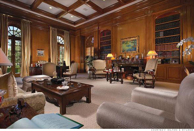 Inside The Spelling Manor The Library 6 Cnnmoney