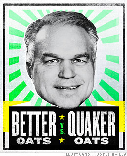 Better Oats vs. Quaker Oats