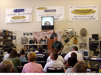 27. Auction Systems Auctioneers