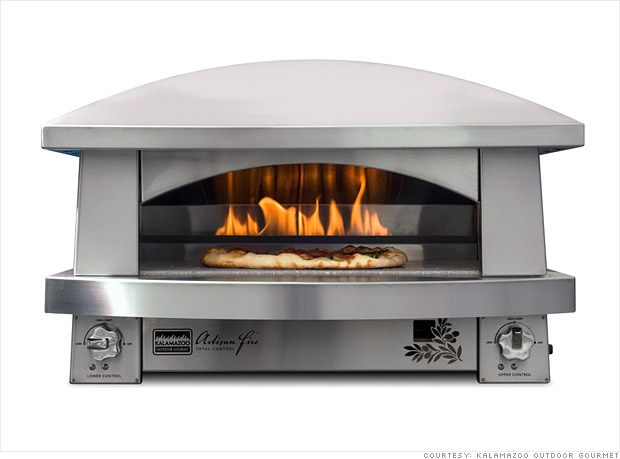 $6,500 pizza oven