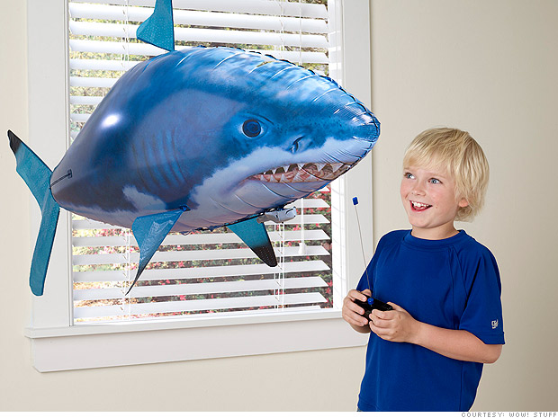 Shark Toys For Boys : Toys you gotta have air swimmers and my keepon