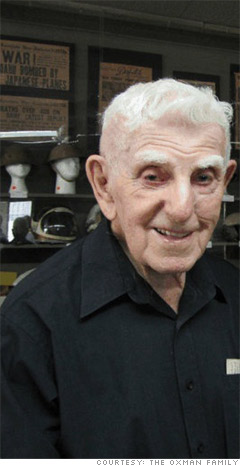 Jerome (Jerry) Oxman, 96