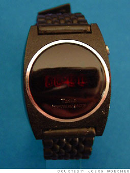 1976:  Cheap digital watches