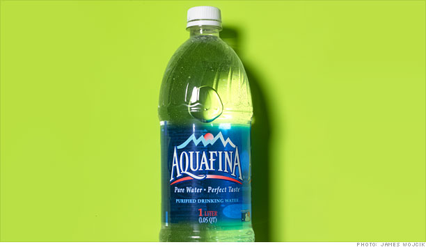 Aquafina 1-liter bottle