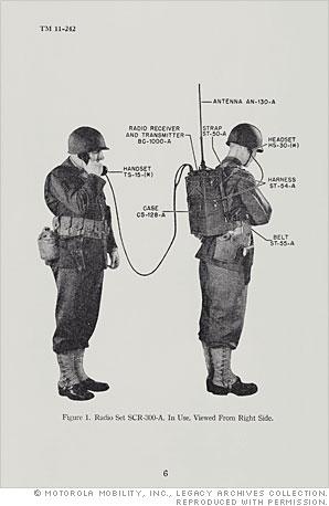 The walkie-talkie