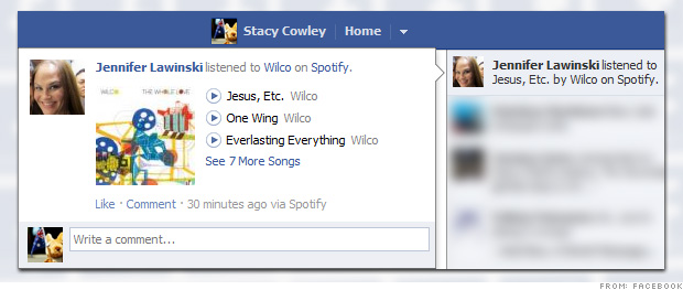 how to stop using facebook for spotify