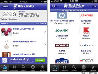 The Black Friday App 