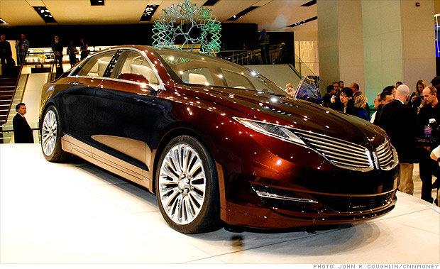 Cool cars from the Detroit Auto Show.   & With MKZ Ford needs Lincoln to be great again - Jan. 10 2012 markmcfarlin.com