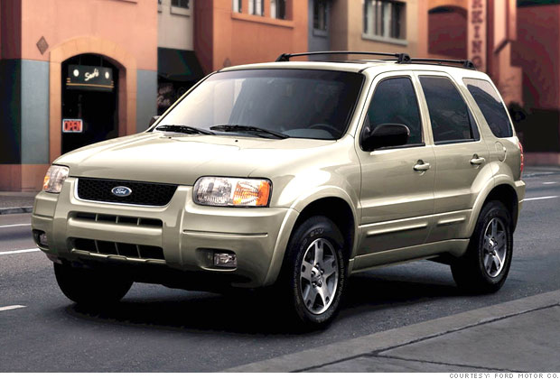 best used cars for under 8 000 6 2003 ford escape 6 cnnmoney. Black Bedroom Furniture Sets. Home Design Ideas