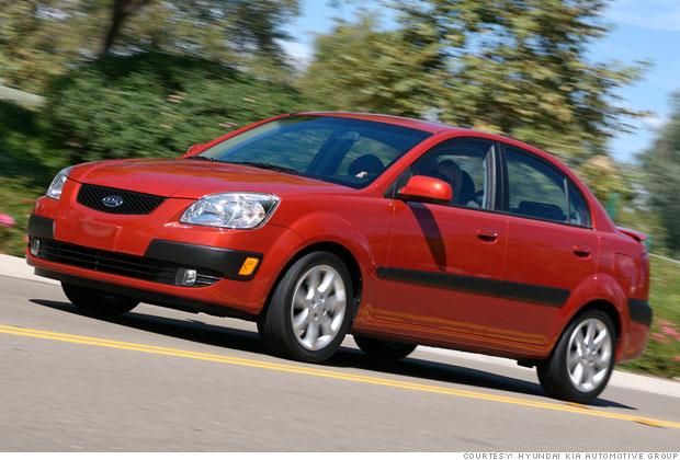 best used cars for under 8 000 10 2008 kia rio 10 cnnmoney. Black Bedroom Furniture Sets. Home Design Ideas